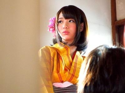【ナンパ】某テーマパークの着物の似合う美少女を仕事帰りにホテルへ連れ込み、着物に着替えさせてハメ撮り!