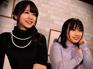 【ナンパ】相席居酒屋でGETした女子大生2人を自宅に連れ込み、ゲームしながら親睦を深め...カラダの親睦も深めました!
