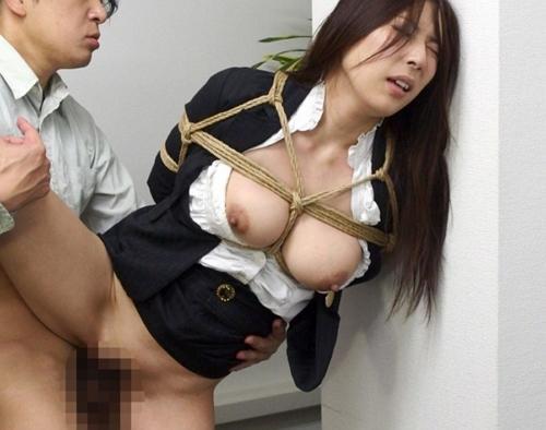 【横山みれい】拘束媚薬で凌辱される巨乳OL!