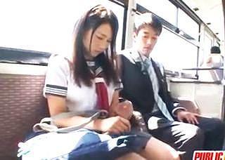 【痴漢】バスでの痴漢で気持ちよくなっちゃいました【眠姦】