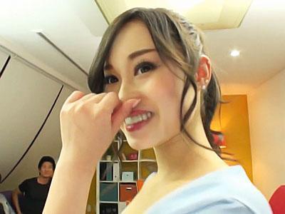 『沢山ってどれくらい♡♡』接吻上手でフェラ達人のGカップ肉食系美容師をデビューさせちゃう!!
