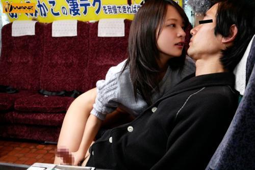 「ねぇ、イッてもいいんだよ♡♡」激カワなロリ女優が一般人とエロテク勝負で、耐えれば生ハメ中出しゲット!!
