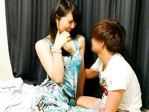 『ああん♥気持ちいい~~♥♥』高身長170cm超えの熟女さんを、若い男が口説いて即パコww