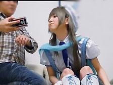 「何のコスプレなの?♡♡」アニメの内容を知らない彼女が、彼氏が用意された衣装に着替えてコスプレエッチ!!