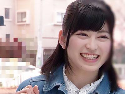 『やだぁ、恥ずかしい♥♥』田舎から上京してきたウブ娘が、デカチンを見せられて即日SEX!!