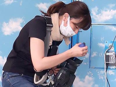 〖SOD女子社員〗『私、カメラマンなんですけど...』激カワな美人カメラマンを、じっくり口説いてハメ撮り!!