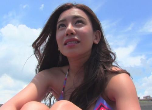 【素人ナンパ】ビーチでズバ抜けて可愛かった水着ギャルを巨根で発情させてハメ撮りに成功!