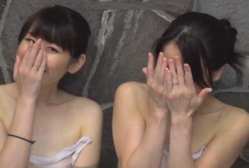 『あ、!見ちゃった///』平均年齢38歳のママ友集団が混浴で大学生の少年チンポと出会ってしまった結果…