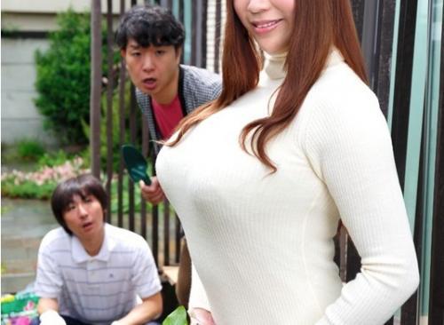 【七草ちとせ】着衣爆乳ネトラレ。 隣人が僕の奥さんの胸をめっちゃ見ます