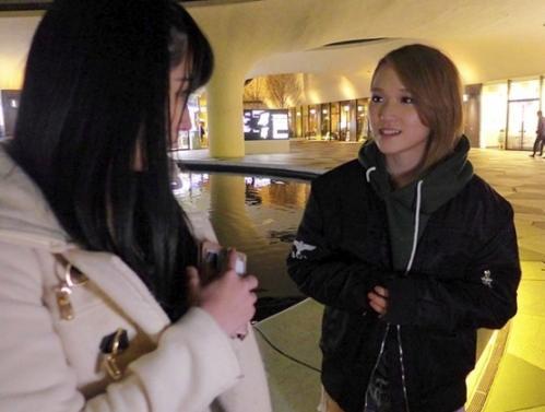 【レズナンパ】『椎名そらの凄テク体験してみませんか?』街行くノンケ女子をAV女優が禁断の世界に引きずり込む!