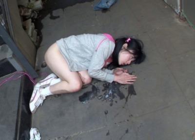 【閲覧注意】マンションの屋上でなわとびをしてた女子小学生に媚薬を盛って犯した鬼畜レイプ動画