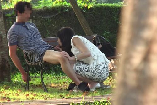 【井上綾子】青姦もOKな40代美熟女のヒッチハイク!今回は丁寧なフェラからのカーセックス!