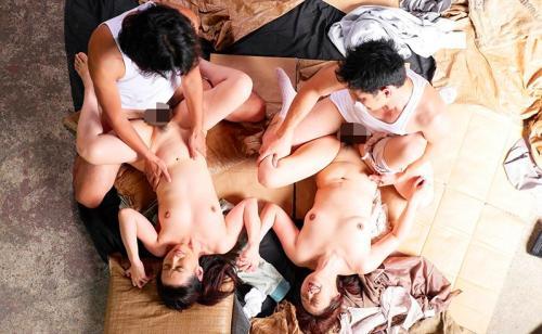 【松下美香】男尊女卑のレイプ事件!熟女が拘束緊縛して首絞めSEXで中出しされる