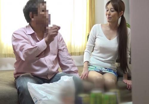 【朝桐光】スレンダー爆乳人妻をナンパお持ち帰り!自宅で酔わせ中出しを盗撮!