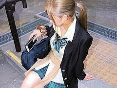 ◆素人円光/個人撮影◆超可愛い金髪ギャルJKと輪姦円光中出し!
