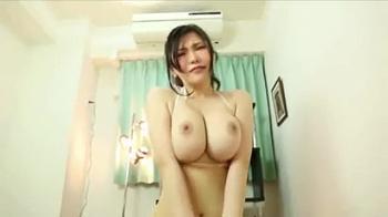 ◆沖田杏梨◆超絶美巨乳美女との主観セックス!おっぱいがすごい!