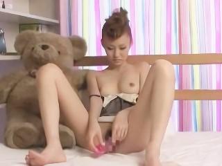 星野姫夏 初の玩具オナニーで細身の体をくねらせて感じまくる美女