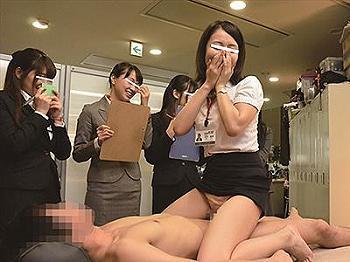 【SOD女子社員】試作ローションの品質チェックのため、自分の身体を使って確認することに!