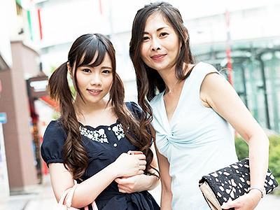 【母娘ナンパ】繁華街で見つけた美人親子をまとめてGET☆四十路過ぎのママと19歳の娘が仲良く乱れちゃうw