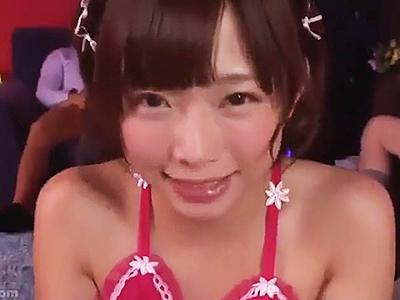 【フェラ抜き】とにかくチンポをしゃぶりたくて仕方ない女の子がフェラしてザーメン搾り取る!