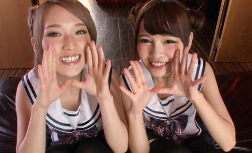 【椎名そら&跡美しゅり】キレイな指がズボズボ!アナルを責め好きにはたまらな絶対的快楽オスガズム