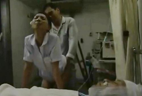 [竜二/FA│艶堂しほり]看護師×患者,意識のない男の竿を使う 01305