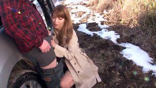 【ティア】コート以外は全裸の巨乳変態痴女をハメる