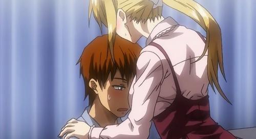 マジで可愛い、巨乳の金髪のお姉さんとHしたりするエロアニメ。