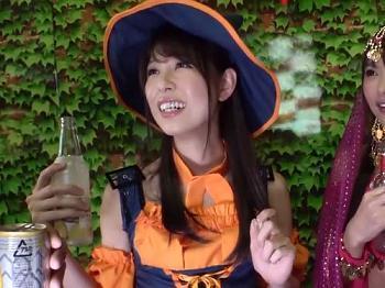 変態ハロウィン女子とアナル舐め&玉舐めご奉仕からのチンポ大好き発言と淫乱度MAXのガチ交尾!