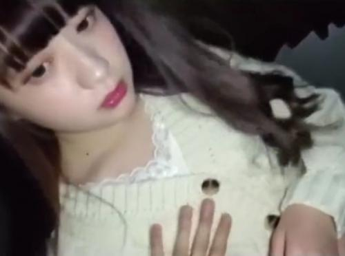 【無】お人形さんみたいな前髪ぱっつんちっぱい清楚娘と生着ハメ撮りで濃厚中出し♪