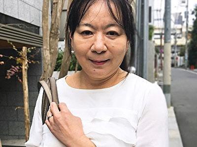 【黒蜜/CAP作品】応募してきた人妻 上戸(かみと)あけみ(58歳)
