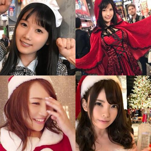 【黒船/CAP作品】ハロウィン×クリスマスナンパ