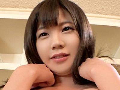 【黒船/CAP作品】エロエロ!AV面接 Case.06 低身長巨乳インテリ女子大生が懇願イキ!!