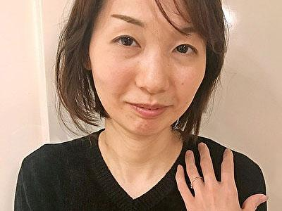 【黒蜜/CAP作品】応募してきた人妻 ともみ(42歳)