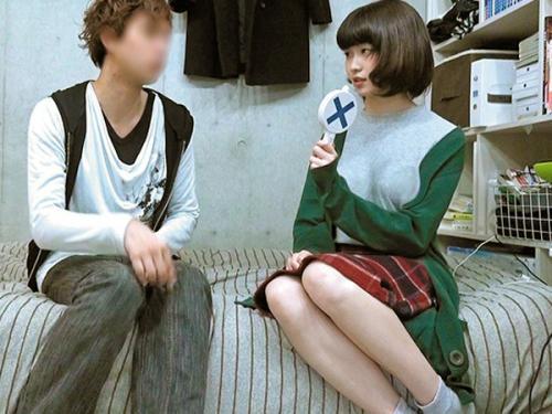 <個人流出>「彼氏一年以上いないし///」欅坂46の平手友梨奈に似た美少女ロリ女子大生が隙を見せてハメられる<隠し撮り>