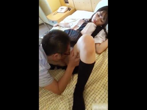 <個人撮影>極上SSSクラスのカワイイ女子校生!スマホでハメ撮りされた援助交際の動画がネット流出www<美少女ロリJK>