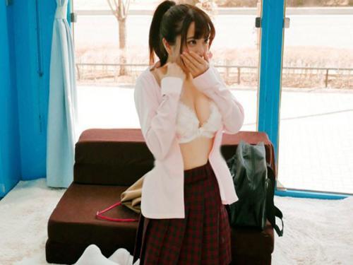 <マジックミラー号>「ちょ・超かわええ~!」美巨乳で美少女なロリ女子校生がMM号の下着モニターでパコられるw<素人JK>