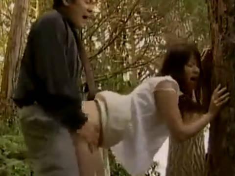 【ヘンリー塚本】姉の亭主に寝取られている巨乳には程遠い貧乳の妹は野外で青姦の近親相姦セックス