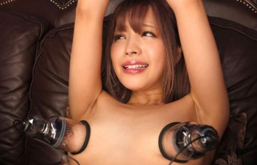 ♥アイドル美少女の乳首調教♥乳首を吸引されると卑猥な顔がたまらない美少女♥マ◯コもグチャグチャにされて絶頂