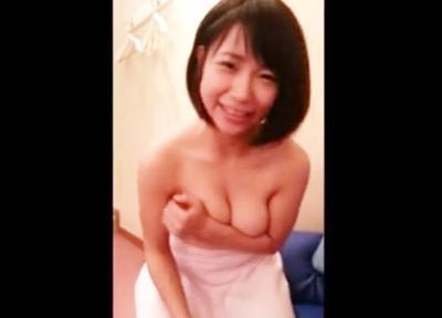 【流出動画】マシュマロおっぱいをしているロリ美少女の個人撮影♥パイズリ&フェラのコンボ技で大量に口内射精しちゃいます