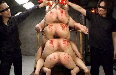 ★鬼畜監禁奴隷★ハードすぎる調教にロリ美少女が号泣、発狂、快楽に堕ちていきます♥地獄のような拷問がヤバいですwww