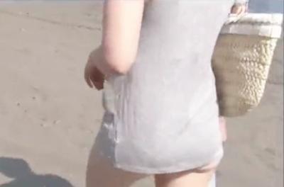 ★人妻ナンパ★「水着の撮影だけですよー♥」八重歯が可愛い若妻が男たちに押されて不倫SEXしちゃった♥排卵日に中出しされる