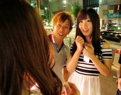【しみけん】街で歩いている人気AV女優をパこれなきゃ帰れません!!出会うと簡単にヤラしてくれるお姉さんたち♥