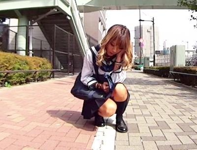 ★ビックバンローター★「ちょ、、、ちょっと待ってぇ!!」初体験の話しをしながらお散歩♥気持ちよすぎて腰が抜ける非常事態!