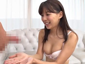【葵つかさ】ファン感で鍛え抜かれた小悪魔美少女のテクニックを我慢して本当の快感を得られるか?