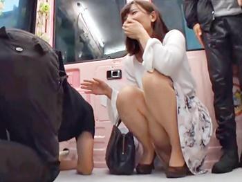 【熟女ナンパ】『あぁ~気持ちいぃ~!』アラフォー美魔女を若い男とキスしませんか?とMMに誘い込み、チュ~巨根でガン突き!