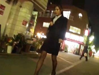 《OLレイプ》「大人しくしろ、バラしたら動画バラ撒くぞ!」美人OLを狙ったストーカーレイプ!ハメ撮りしながらOLを犯す!!