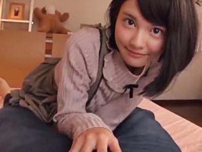 【松岡ちな】こんな可愛い妹が、股間をまさぐって来たら...しかも巨乳だし...とりあえず犯ってみます♪