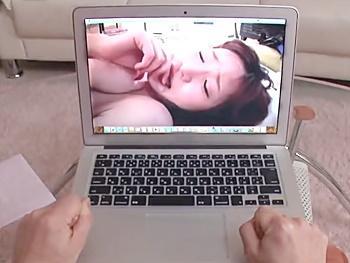 【NTR】彼女のPCに残された寝取られ痕跡!格下の友人に脅され…自分よりはるかに格上のビックペニスを扱き弄ばれる盗撮映像!