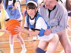 「うはっしまるw」球技大会でJKの時間を止めて一番人気の子に恥辱の限りを尽くしてパイパンにちんぽ挿入